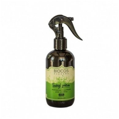Biocos aromaterapinis purškalas nuo uodų ir erkių Saugi Pieva, 250 ml