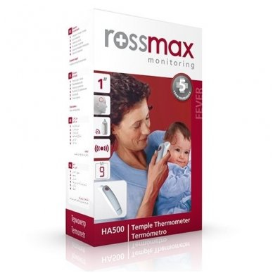 Rossmax bekontaktis termometras HA500