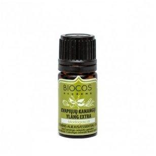 Biocos kvapiųjų kanangų eterinis aliejus, 3 ml