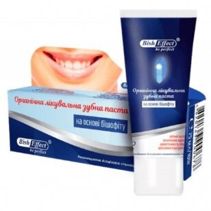 Bish Effect Poltavos Bišofito mineralinė dantų pasta, 75 ml