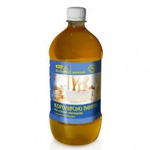 Bish Effect Poltavos Bišofito vonios emulsija Geltona, 1000 ml