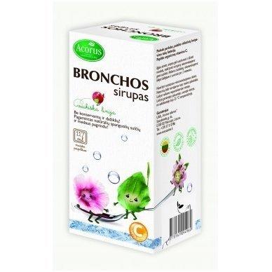 Acorus vaistažolių sirupas vaikams Bronchos, 117 ml