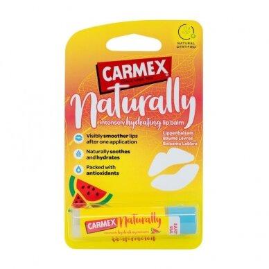 Carmex Naturally arbūzų skonio lūpų balzamas 4,25 g 2