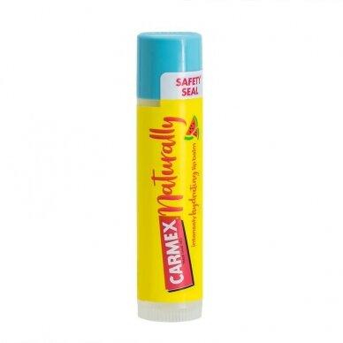 Carmex Naturally arbūzų skonio lūpų balzamas 4,25 g