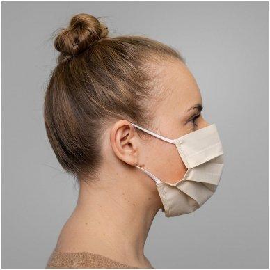 Daugkartinio naudojimo medvilninė apsauginė veido kaukė, 2 vnt. 5
