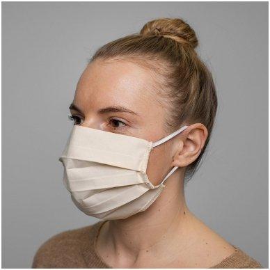 Daugkartinio naudojimo medvilninė apsauginė veido kaukė, 2 vnt. 7