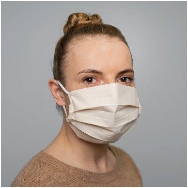 Daugkartinio naudojimo medvilninė apsauginė veido kaukė, 2 vnt. 4