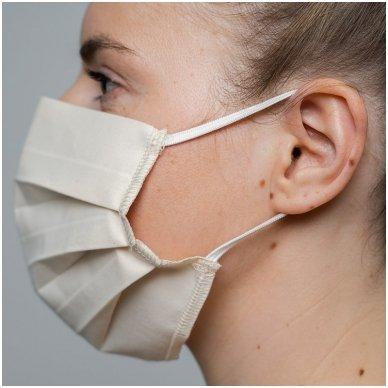 Daugkartinio naudojimo medvilninė apsauginė veido kaukė, 2 vnt. 6