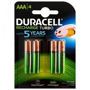 Duracell AAA 850 mAh įkraunami elementai, 4 vnt.