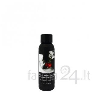 Earthly Body masažo aliejus Cherry, 60 ml