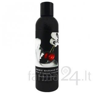 Earthly Body masažo aliejus Cherry, 237 ml
