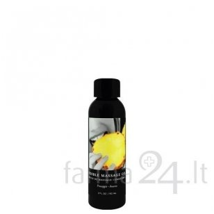 Earthly Body masažo aliejus Pineapple, 60 ml