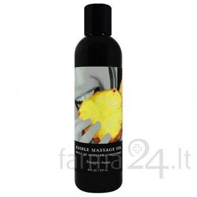 Earthly Body masažo aliejus Pineapple, 237 ml