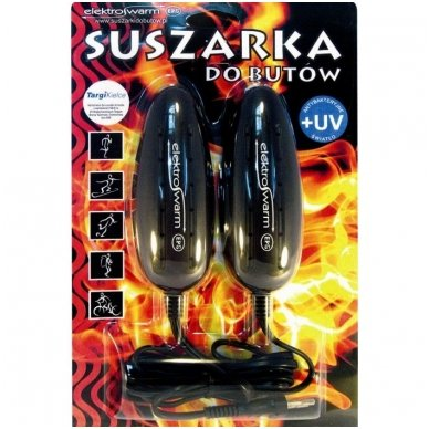"""Elektrinis ultravioletinių spindulių batų džiovintuvas """"SB-3UV"""" 3"""
