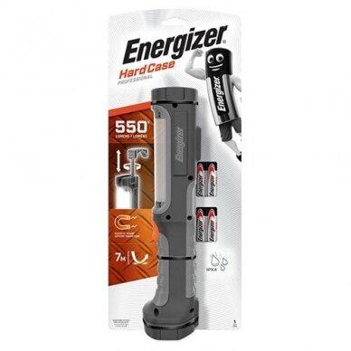 Energizer prožektorius 550 Lumens Hard Case Pro