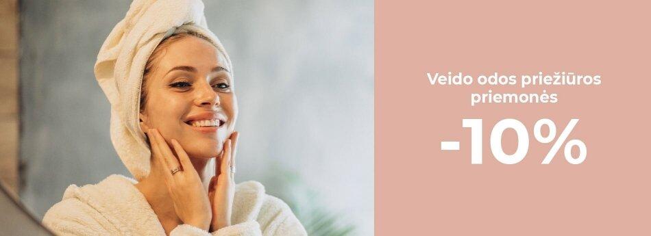 Veido odos priežiūros prekėms