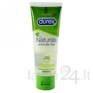 Durex Gelis Naturals Intimate, 100 ml