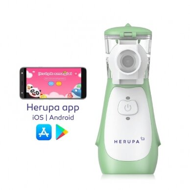 Herupa inhaliatorius Smart Mesh Plus 2