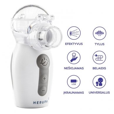Herupa tinklelinis inhaliatorius Smart Mesh 3