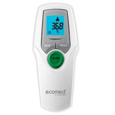 Medisana infraraudonųjų spindulių bekontaktis termometras Ecomed TM-65E 2