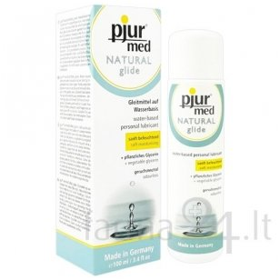 pjur lubrikantas MED Natural Glide, 100 ml