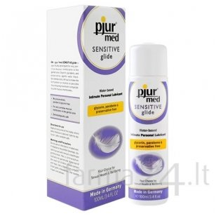 Lubrikantas pjur MED Sensitive Glide, 100 ml
