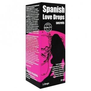 Maisto papildas moterims Spanish Love Drops secrets, 30ml