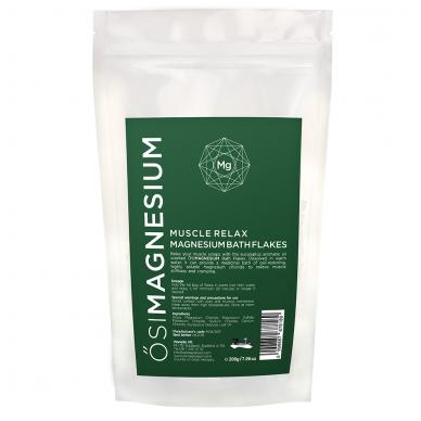 Osimagnesium magnio vonios druska Atsipalaidavę Raumenys, 200 g