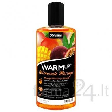 JoyDivision masažo aliejus WARMup Mango & Maracuya, 150 ml