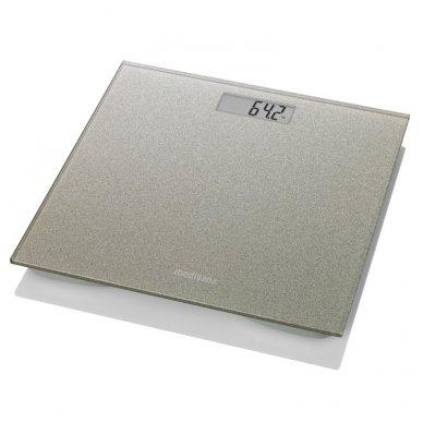 Medisana elektroninės svarstyklės PS 500 Gold Glass