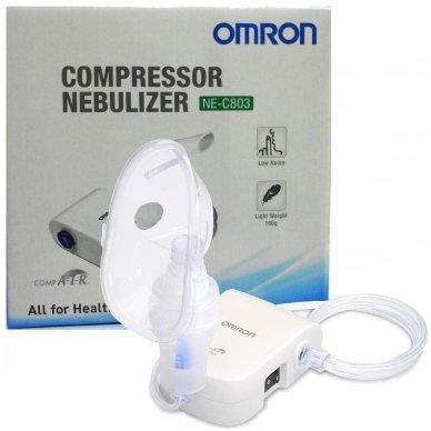 """Omron inhaliatorius """"CompAir Basic NE-C803-E"""" 5"""