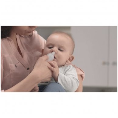 """Omron inhaliatorius su nosies aspiratoriumi """"DuoBaby 2in1"""" 5"""