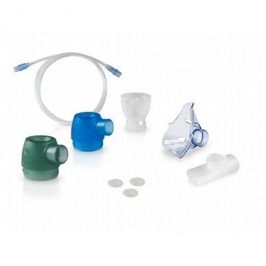 Omron kompresorinis inhaliatorius su aspiratoriumi C301 DuoBaby 2in1 4