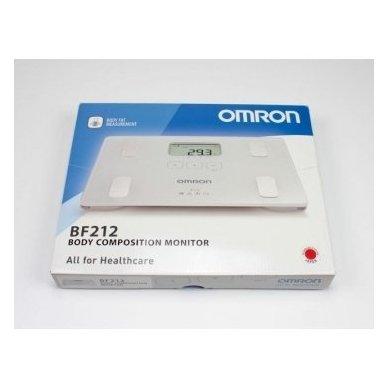 Omron kūno sudėties matuoklis su svarstyklėmis BF 212 2