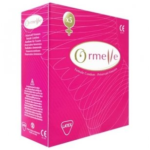 Ormelle moteriškas prezervatyvas, 5 vnt.