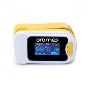 Oromed pulsoksimetras Oro-Pulse Yellow