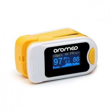 Oromed pulsoksimetras Oro-Pulse Yellow 3