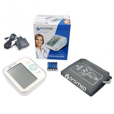 Oromed kraujospūdžio matuoklis ORO-N6 Basic su adapteriu