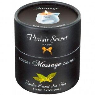 Plaisir Secret Ylang Bougie masažo žvakė 80ml