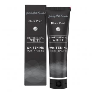 Profesionali balinanti dantų pasta Beverly Hills Formula Black Pearl, 134 g