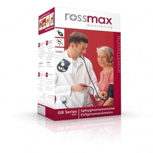 Rossmax aneroidinis kraujospūdžio matuoklis GB102