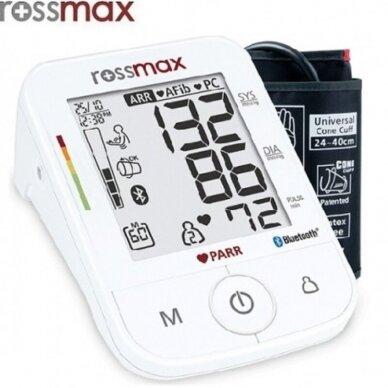 Rossmax kraujospūdžio matuoklis X5 Bluetooth 2