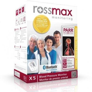 Rossmax kraujospūdžio matuoklis X5 Bluetooth