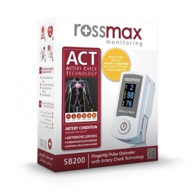 Rossmax pulsoksimetras SB200 2