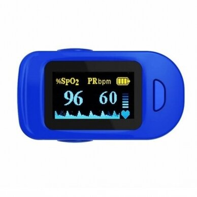 Wellue pulsoksimetras FS20C 2