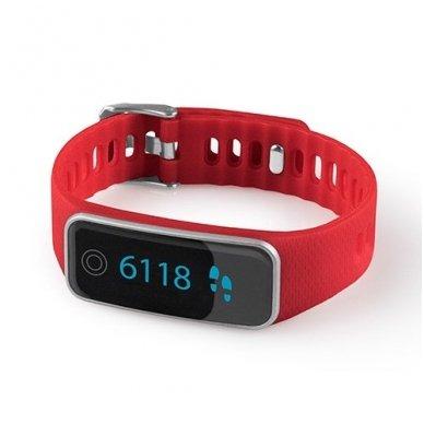 Medisana žingsniamatis ir miego sekiklis ViFit Red